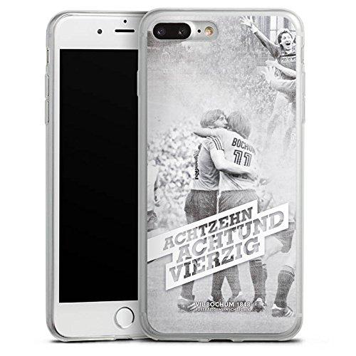 Apple iPhone 8 Slim Case Silikon Hülle Schutzhülle VfL Bochum Fanartikel Bundesliga Silikon Slim Case transparent
