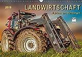 Landwirtschaft - Hightech und Handarbeit (Wandkalender 2019 DIN A3 quer): Die Arbeit mit landwirtschaftlichen Maschinen auf dem Bauernhof. (Monatskalender, 14 Seiten ) (CALVENDO Technologie)