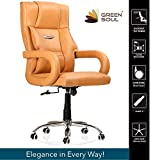Green Soul Barcelona High-Back Computer Executive Office Chair, Modern And Ergonomic Design, Elegant
