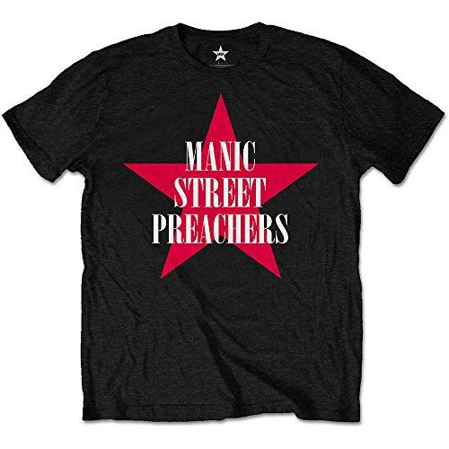 manic-street-preachers-mens-red-star-short-sleeve-t-shirt