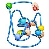 Lucy&Leo Puzzle Perla Labirinto Labirinto # 6 Educativo Legno Toddler Toy Baby Boy e Baby Girl da 6 mesi