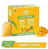 EAT Anytime Mango Ginger Energy Bars, 38g (Pack of 6)