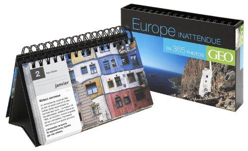 Calendrier Géo Europe inattendue en 365 photos