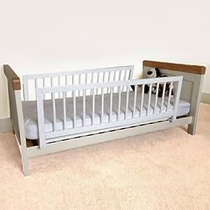 safetots double sided wooden bedguard range white baby. Black Bedroom Furniture Sets. Home Design Ideas
