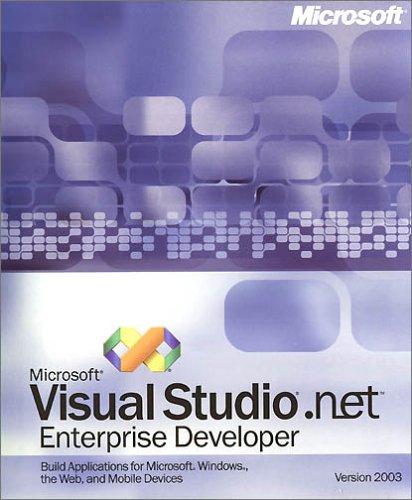 Preisvergleich Produktbild MS Visual Studio.NET Ent. Dev 2003 CD / not to NA / Australia / UK