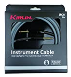 Kirlin IPD201-6GA Stage Câble jack pour Instrument Gris