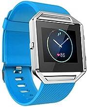 Para Fitbit Blaze,Xinantime Correa para la muñeca de silicona banda de reloj suave