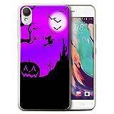 Stuff4 Phone Case for HTC Desire 10 Lifestyle Halloween