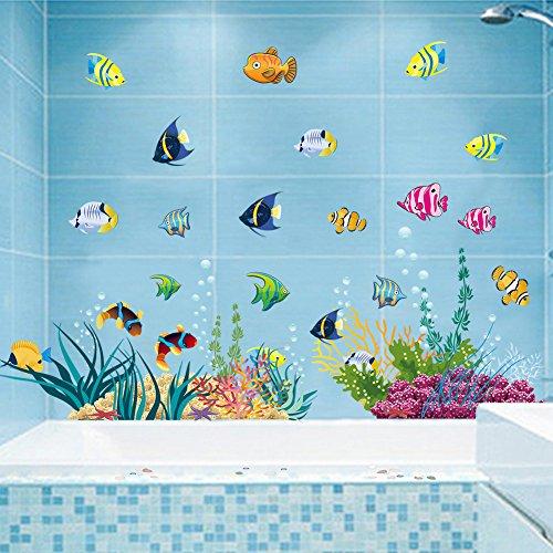 stickerkoenig-wandtattoo-wandaufkleber-fische-meerestiere-ozean-unterwasserwelt-2d-sticker-auch-als-