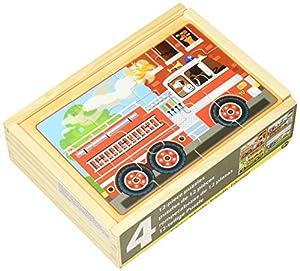 Melissa & Doug- Vehicles Juego Puzzle, 3-6 Años, Multicolor (Melissa&Doug 13794)