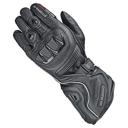 Held Motorradschutzhandschuhe, Motorradhandschuhe kurz Chikara RR Handschuh schwarz 9, Herren, Sportler, Ganzjährig, Leder