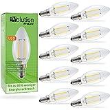 Evolution E14 3W 350lm   bombillas incandescentes de filamento LED   Lámpara de 230V AC 270 °   Reemplazo de 20-25W   Lámparas E14 blanco caliente   Conjunto de 10