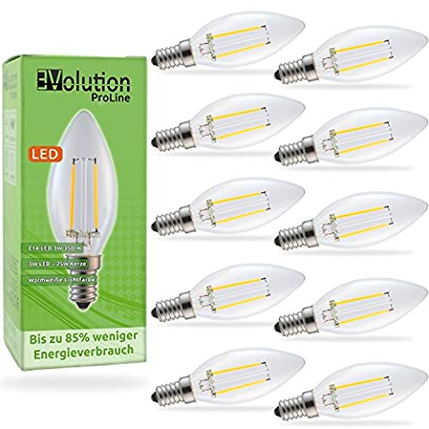 Evolution® E14, 10 x 3 Watt 350lm