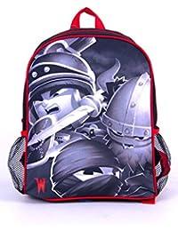 Preisvergleich für Oxbridgesatchels, Kinderrucksack schwarz/red Dimensions: 36 x 32 x 15 cm