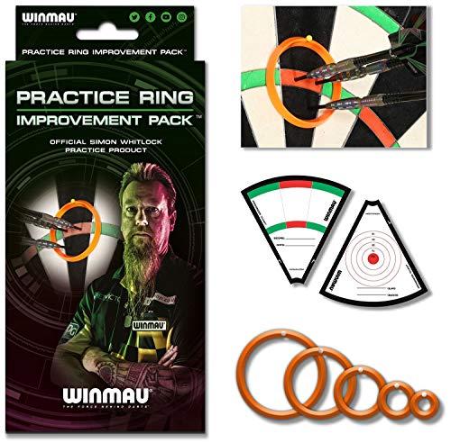Winmau Simon Whitlock's Practice Ring Improvement Pack Dart Dartzubehör Trainings Ringe Neuheit 2019