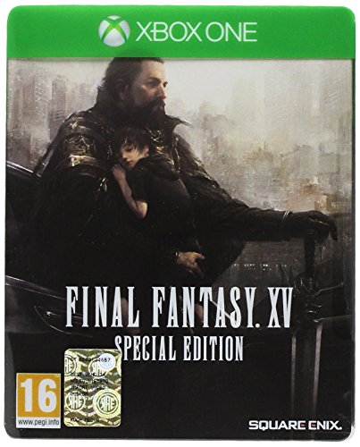 Final Fantasy XV + Steelbook Esclusiva Amazon - Xbox One