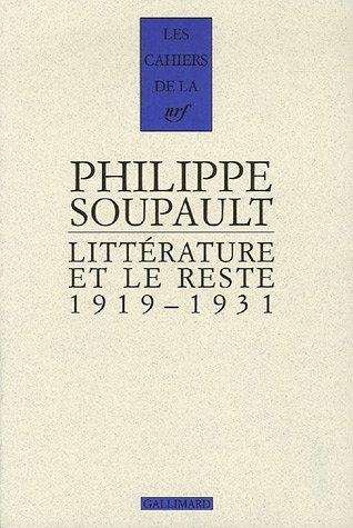 Littrature et le reste: (1919-1931)