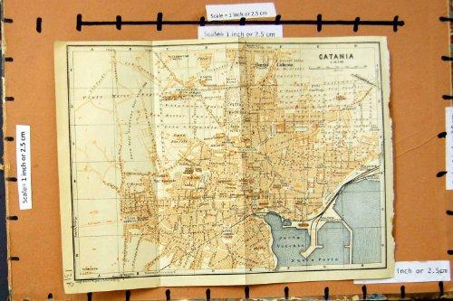 pianificazione-1929-della-via-di-etna-catania-della-mappa-oporto-vecchin-nuovo