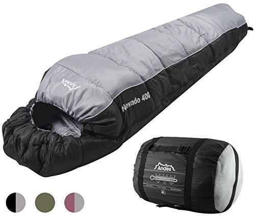 Andes Nevado 300 3 Season Camping Hiking Mummy Sleeping Bag
