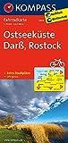 KOMPASS Fahrradkarte Ostseeküste, Darß, Rostock: Fahrradkarte. GPS-genau. 1:70000: Fietskaart 1:70 000 (KOMPASS-Fahrradkarten Deutschland, Band 3019)