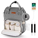 Best Diaper Backpacks - YISSVIC Nappy Changing Backpack Diaper Bag Waterproof Mummy Review