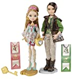 Ever After High Ashlynn Ella und Hunter Huntsman – Modische Spielzeug Puppen