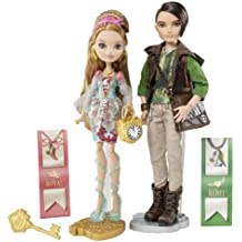 Ever After High - Muñecos de Ashlynn Ella y cazador [importado de Inglaterra]