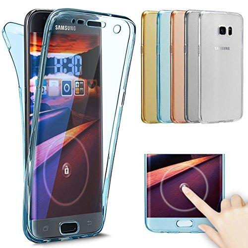 EUWLY-360-Grad-Handyhlle-fr-Samsung-Galaxy-Note-8-Transparent-Durchsichtig-TPU-Rundum-Schutzhlle-Vorne-und-Hinten-Schutzhlle-Samsung-Galaxy-Note-8-Full-Body-Beidseitiger-360Schutz-Komplette-Handytasch