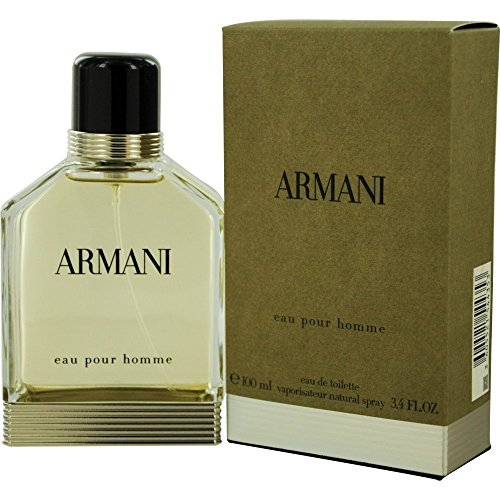 Armani pour homme/men, Eau de Toilette Vaporisateur, 1er Pack (1 x 100 ml)