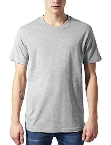 Urban Classics TB168 Herren T-Shirt Basic Tee Grau (Grey 111), Medium - Grau Classic-shirt