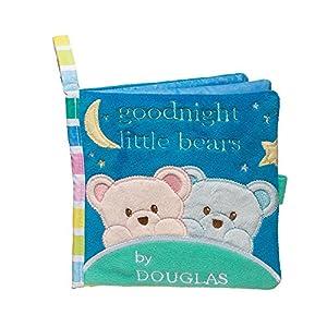 Cuddle Toys 6407Rosa y Azul Oso Actividad Libro