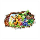 Imagen pegatinas de pared de Winnie the Pooh pegatinas de pared de Winnie the Pooh para niños decoración de la pared