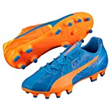 Puma Evospeed 4 H2H FG Jr orange Clown Fish-Electric Blue Lemonade 15/16 37 orange Clown Fish-Electric Blue Lemonade