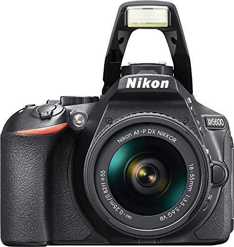 Nikon D5600 - Spiegelreflexkamera + Objektiv AF-P DX NIKKOR 18-55mm f/3.5-5.6G - Schwarz