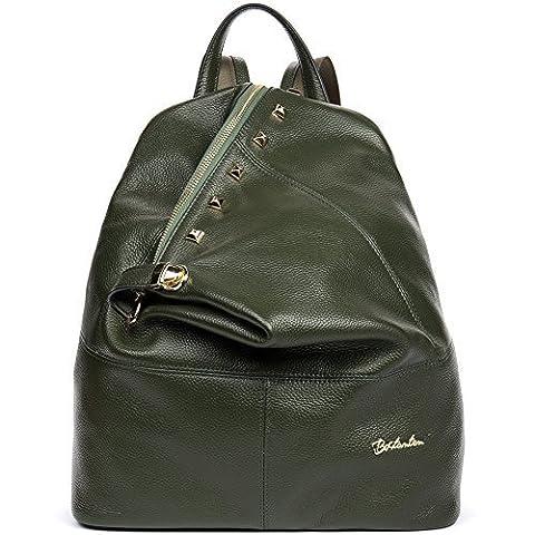 BOSTANTEN Sac à dos femme cuir sac à dos randonnée