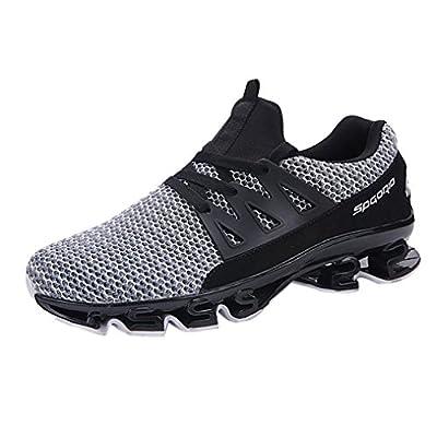 Herrenschuhe Malloom Mens Casual Walking Sneaker Slip auf Blade Outdoor Sportschuhe Mesh Laufschuhe