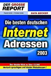 Die besten deutschen Internet-Adressen 2003