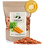 AniForte Barf Zusatz für Hunde Karottenflocken 1kg - Naturprodukt, Barf Ergänzungsfutter, glutenfrei, Flocken ohne künstliche Zusätze, 100% Natur Ergänzung barfen, Futter ...