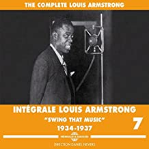 Swing That Music 1934-1937 Intégrale Louis Armstrong /Vol.7