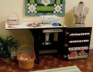 Mueble para máquina de coser- Sewnatra en Negro de Arrow Cabinets