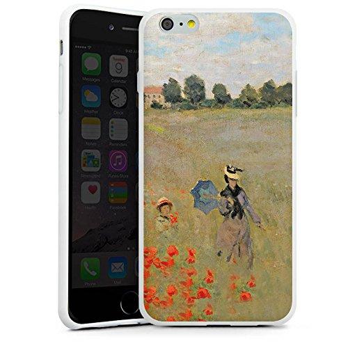 Apple iPhone X Silikon Hülle Case Schutzhülle Claude Monet Gemälde Kunst Silikon Case weiß