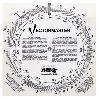 Weems & Plath Marine Navigation Vectormaster Circular Slide Rule and Navigation Tool by Weems & Plath -