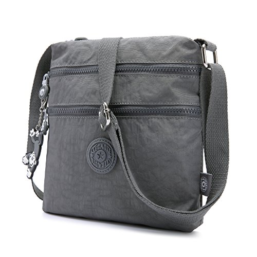 Foino Women Shoulder Bag Travel Cross Body Bag Casual Messenger Bag for Sport Fashion Satchel Girls Crossbody Side Pack