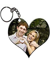 Photo_Printing_on_Heart_shaped_keychain_by_Candy Gifts_perfect_gift_for_everyone_Birthday Gifts_Anniversary Gifts_Wedding...