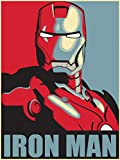 IRON MAN – US Imported Movie Wall Poster Print – 30CM X 43CM Brand New Marvel