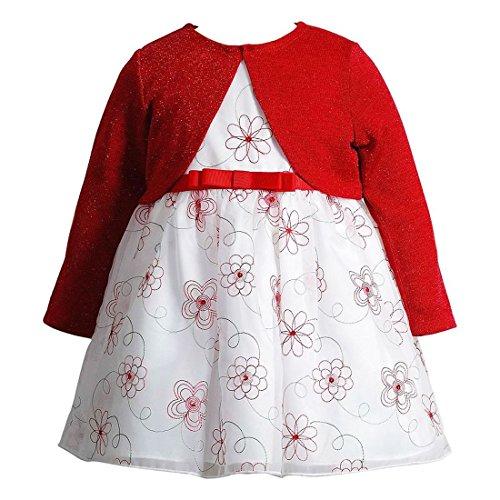 Youngland Traum Baby Mädchen Petticoat Kleid + Bolero für jeden Anlass Größe 50 - Youngland Für Outfits Mädchen