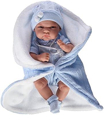Muñecas Antonio Juan - Muñeco Baby Tonet, color azul (6009)