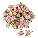 50 Streuröschen in rosa Streublüten Rosen 1,5 cm