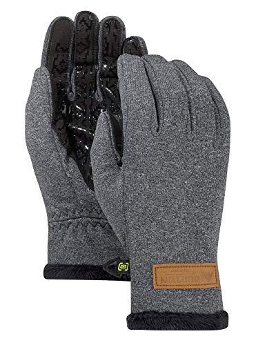 Burton Damen Sapphire Glove Snowboardhandschuhe, True Black Heather, M (Ski-handschuhe Burton)