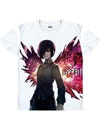 Bromeo Tokyo Ghoul Anime Ropa Mangas Cortas Tee T-shirt Camisetas